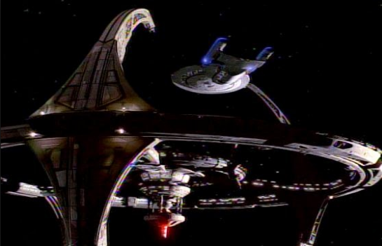 DS9 and Enterprise